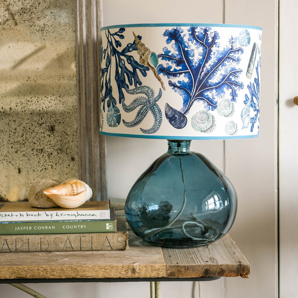 Rockpool Off White Lampshade -Homeware- Cream Cornwall