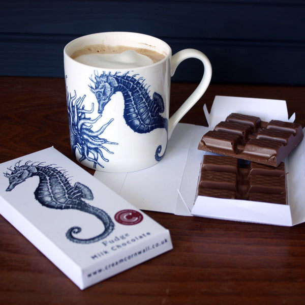 Seahorse Milk Chocolate - Caramel Sea Salt - cream cornwall