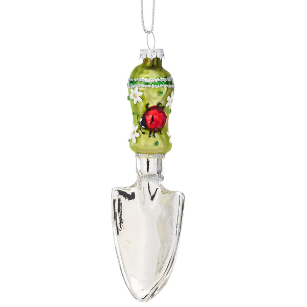Garden Trowel Christmas Bauble -Accessories- Cream Cornwall