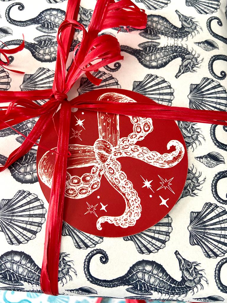 Gift Tag -Luxury Gift Tag- Cream Cornwall