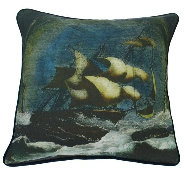 Tornado Cushion Cover -Homeware- Cream Cornwall