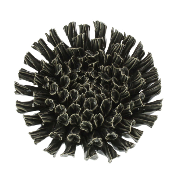 Black Ceramic Coral -Accessories- Cream Cornwall