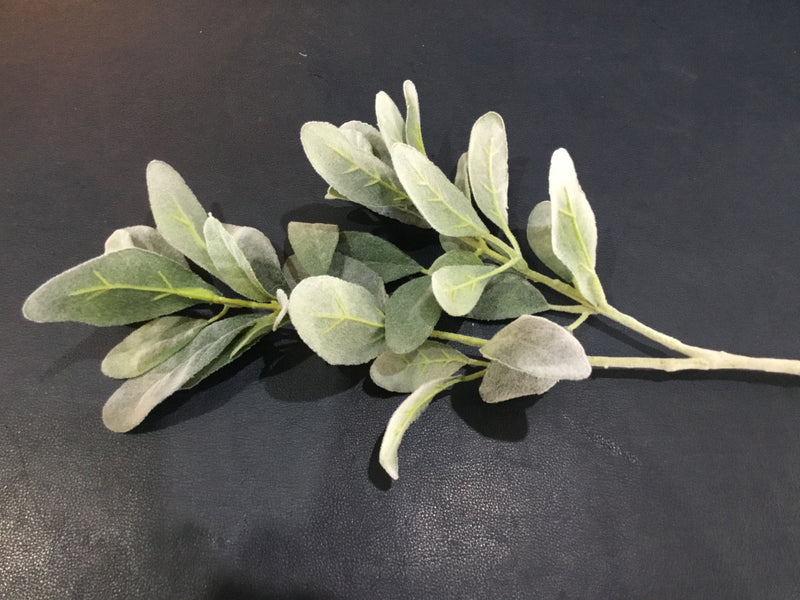 Lamb's Ear Leaf Spray -Accessories- Cream Cornwall