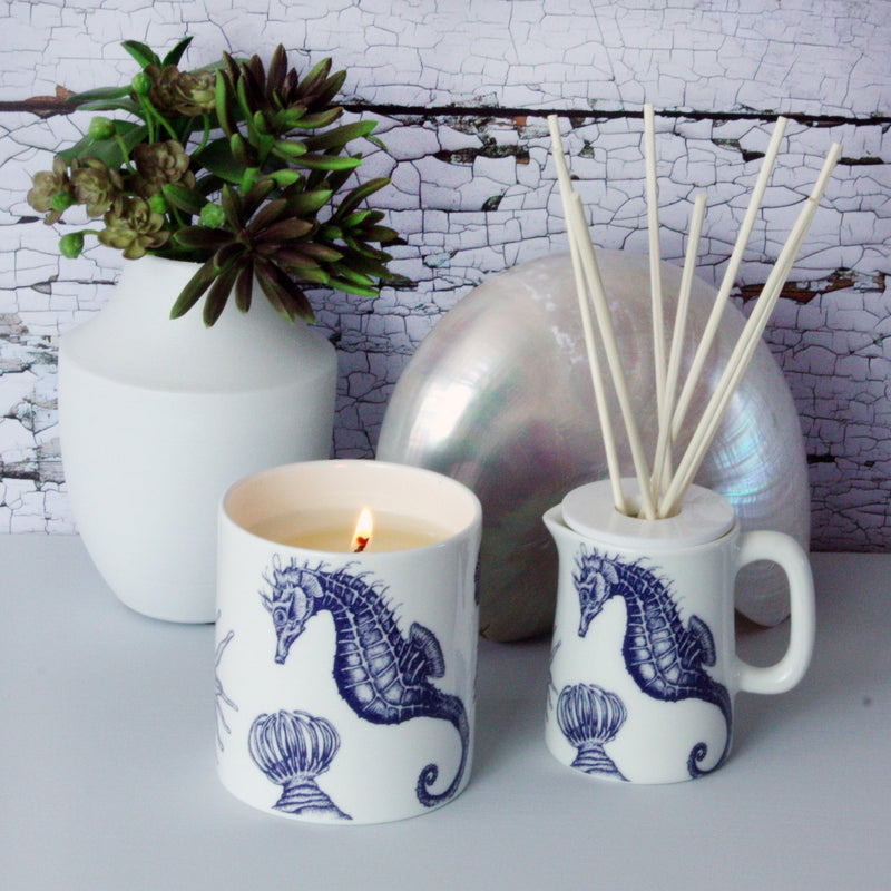 Lamorna Candle -Accessories- Cream Cornwall