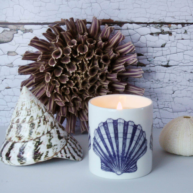 Manderlay Candle -Accessories- Cream Cornwall