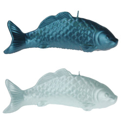 Fish Candle -Accessories- Cream Cornwall
