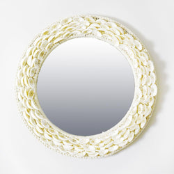 Baby Clam Shell Mirror -Accessories- Cream Cornwall