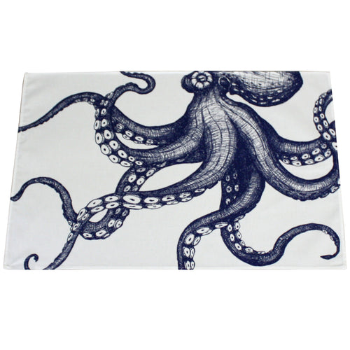 Maritime Tea Towel - Octopus