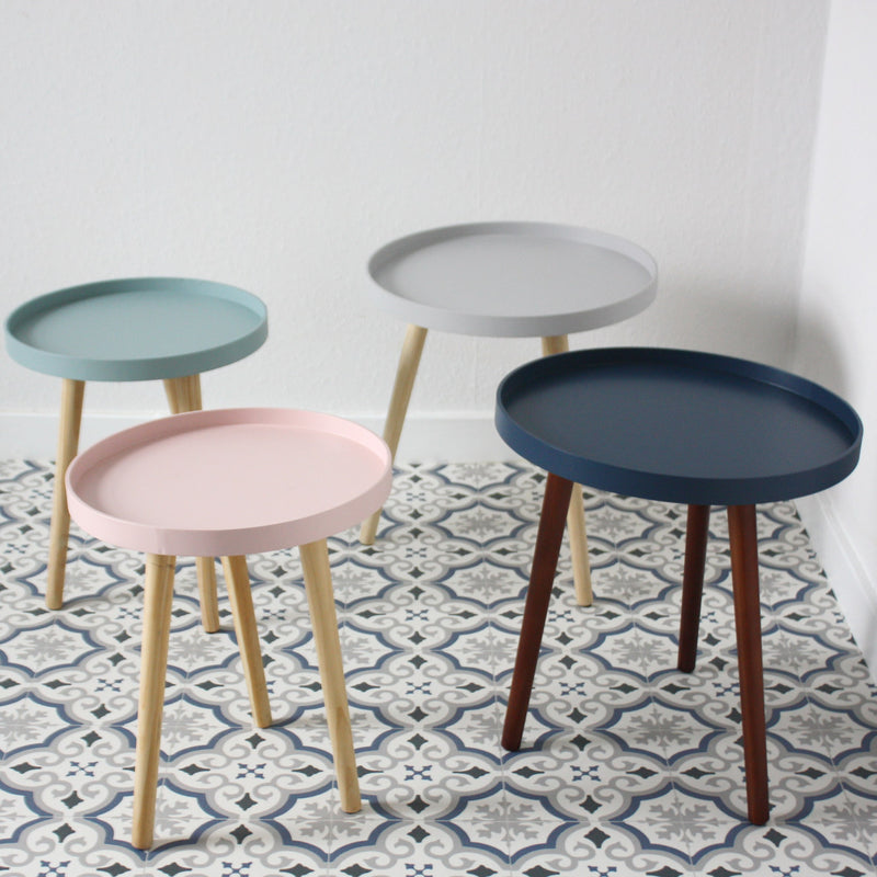 Round Wood Table - Sapphire -Furniture- Cream Cornwall