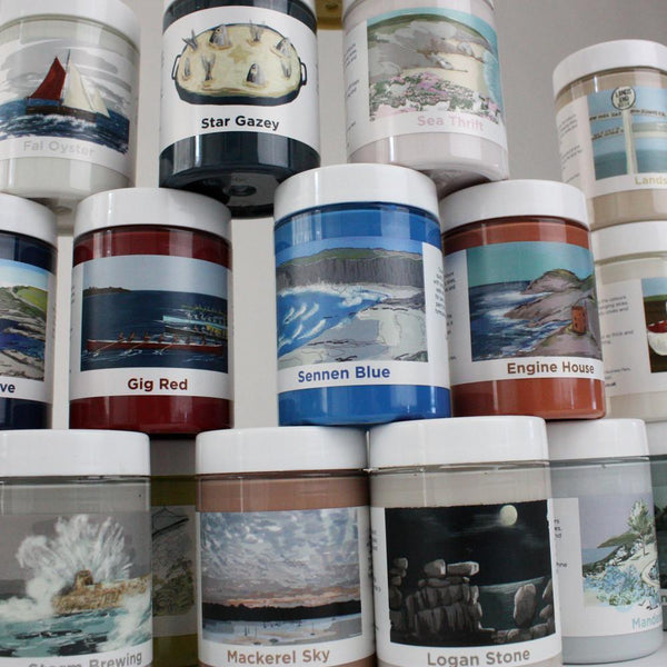 Paint - Sample Pots -Accessories- Cream Cornwall