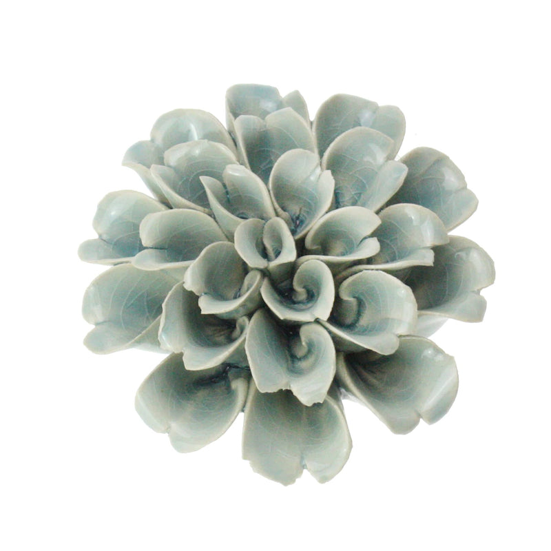 Celadon Underwater Flower -Accessories- Cream Cornwall