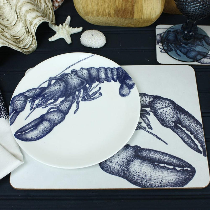 Bone China Lobster Dinner Plate -Kitchen & Dining- Cream Cornwall
