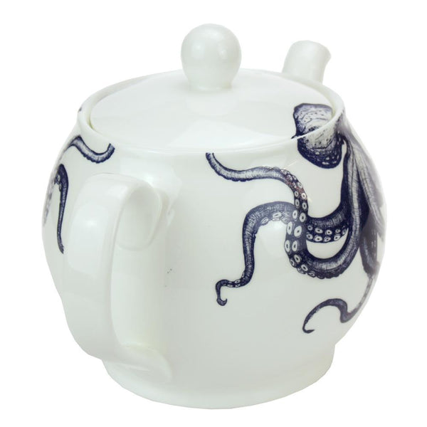 Teapot - Octopus -Kitchen & Dining- Cream Cornwall