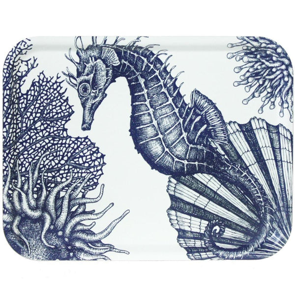 Seahorse Tray -Kitchen & Dining- Cream Cornwall