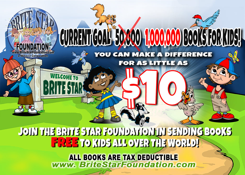 OUR GOALS HAVE CHANGED 1,000,0000 BOOKS FOR KIDS