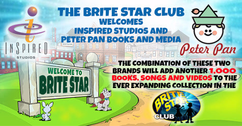 Welcome to the Town of Brite Star Inspired Studios and Peter Pan Books and Media