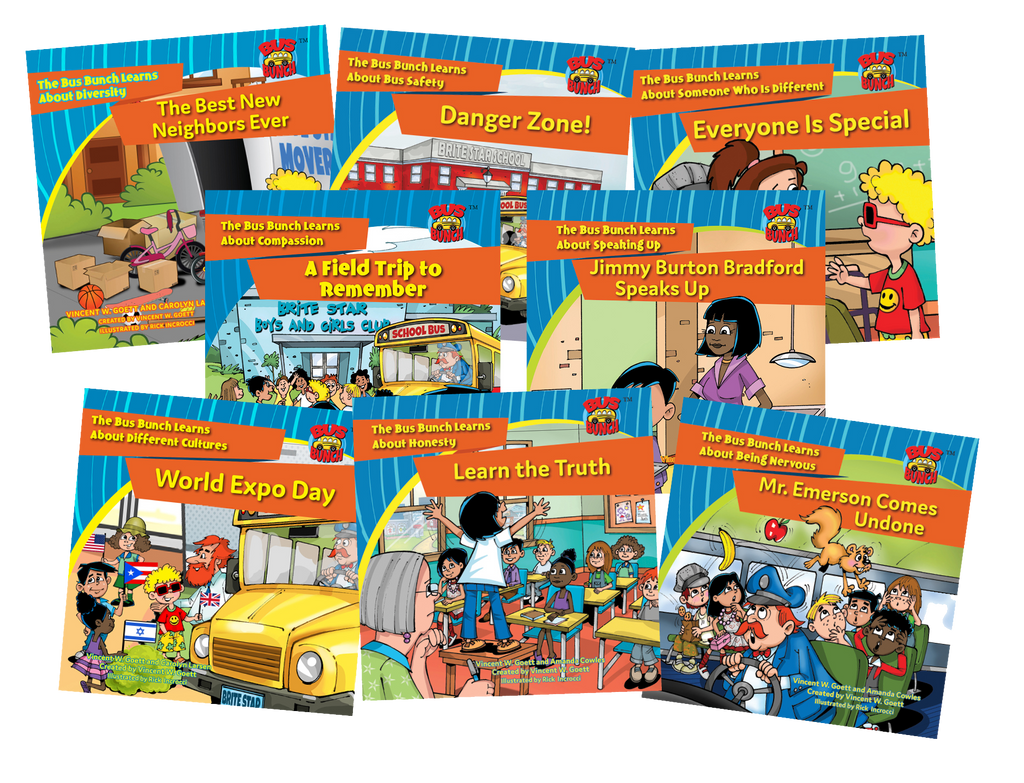 The Bus Bunch Classroom Pack