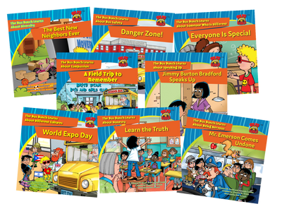 The Bus Bunch Classroom Pack and a Free Membership in the Brite Star Learning Network