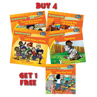 Buy 4 Brite Star Kids and Get 1 Free + 6 Month Membership in Brite Star Learning Network