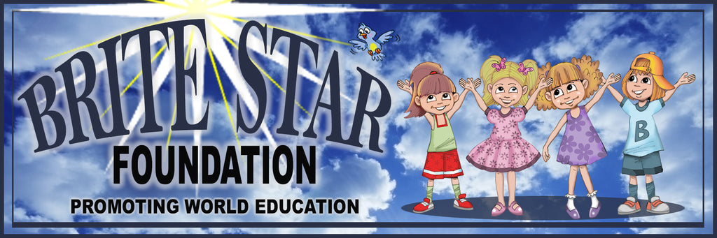 $30 for the Brite Star Foundation Book Drive