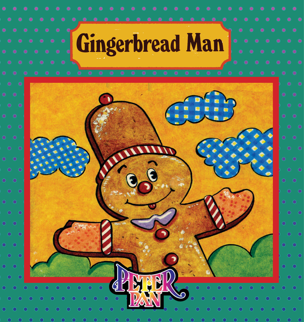 The Gingerbread Man Book With Audio Read-Along plus FREE Membership in Brite Star