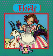 Heidi Book with Audio Read-Along plus FREE Membership in the Brite Star Learning Network