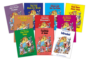 Kids-Life Bible Storybook Complete Set