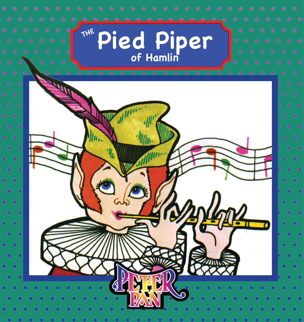 The Pied Piper Book With Audio Read-Along plus FREE Membership in the Brite Star Learning Network