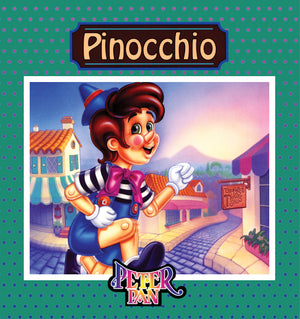 Pinocchio Book With Audio Read-Along plus FREE Membership in the Brite Star Learning Network