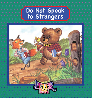Do Not Talk to Strangers Book With Audio Read-Along