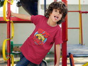 Brite Star Bus Bunch - Youth Short Sleeve T-Shirt