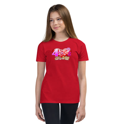 Brite Star 4 Sisters - Youth Short Sleeve T-Shirt