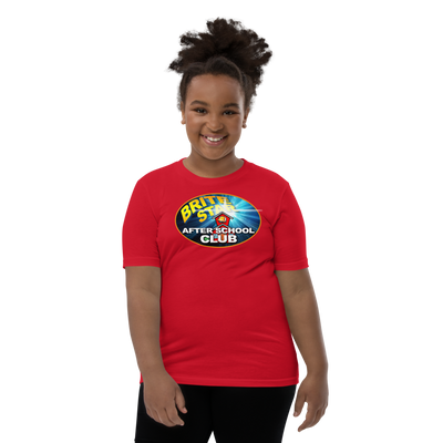 Brite Star After School Club - Youth Short Sleeve T-Shirt