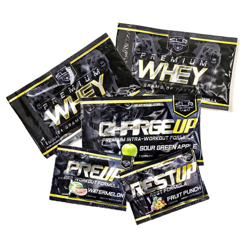 SLR SUPPLEMENTS MEGA SAMPLE PACK