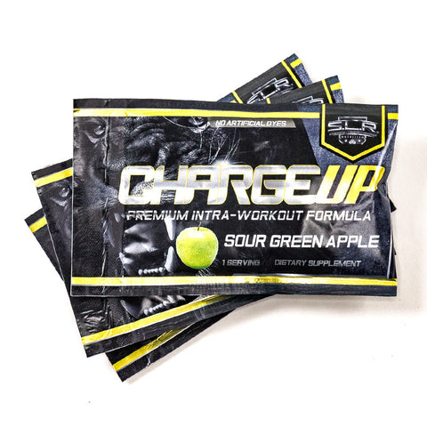 SLR SUPPLEMENTS CHARGE UP INTRA WORKOUT ENDURANCE FUEL- SAMPLE PACKS