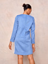 Long Sleeve Wool Mini Dress - April & Alex