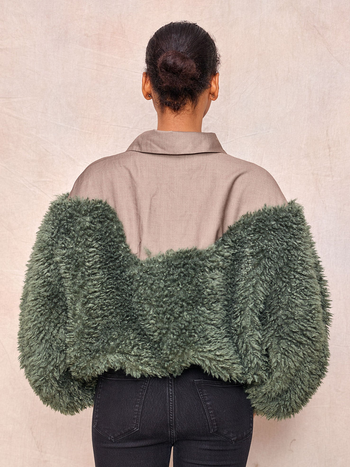 Faux Fur Pullover - April & Alex