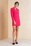 Long Sleeve Mini Blazer Dress - April & Alex