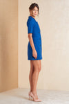 Short Sleeve Mini Blazer Dress - April & Alex