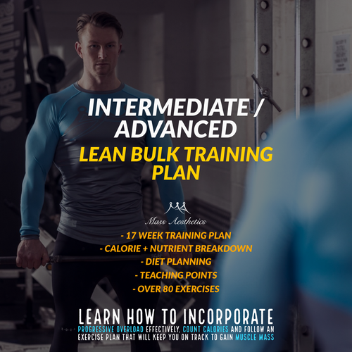 LEAN BULK TRAINING PLAN