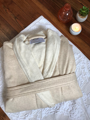 Shawl Collar Jersey Robe