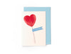 Scratch and Sniff Card - Heart Lollipop