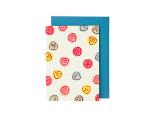 Scratch and Sniff Card - Love Hearts