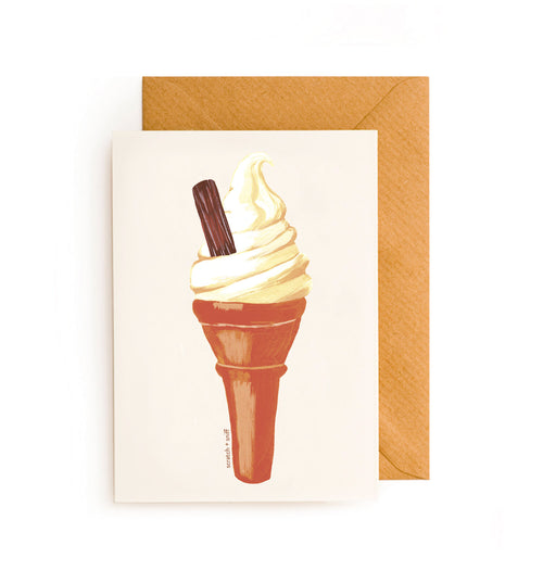 Scratch and Sniff Card - Ice Cream Cone