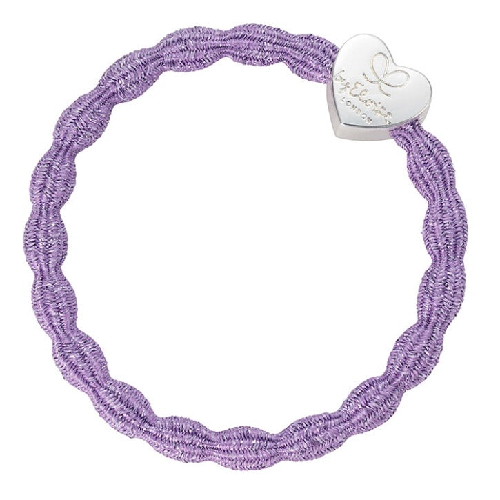 Glitter purple band and bangle