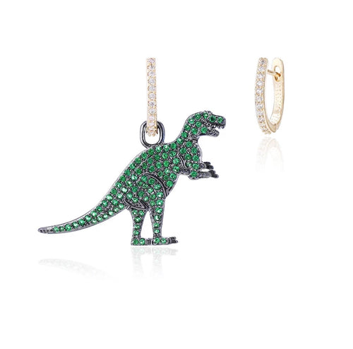 T Rex Dinosaur Stud Earrings
