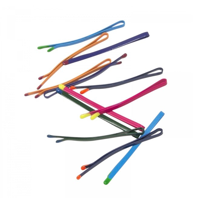 Match tip bobby pins