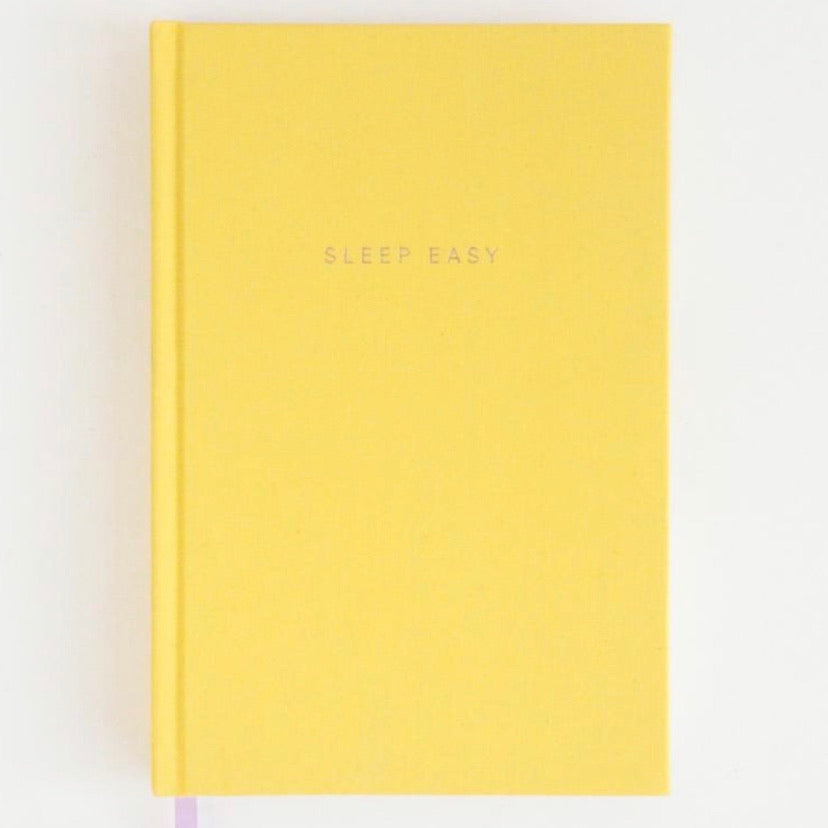 Bedtime note book in Yellow