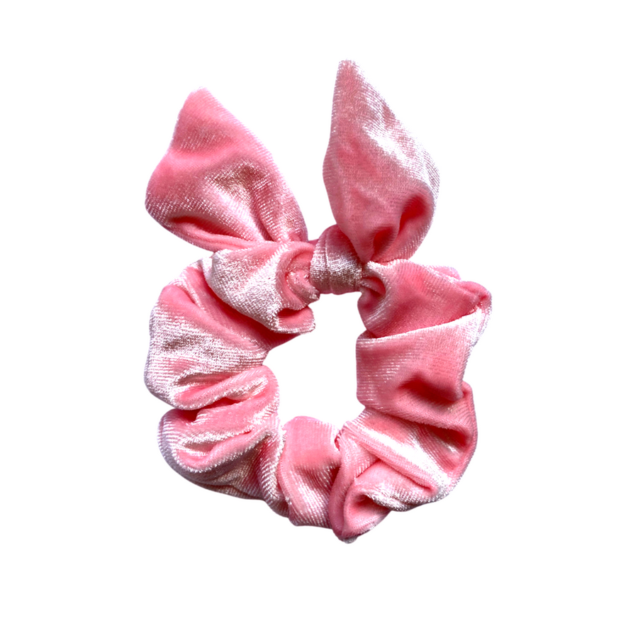 Baby Pink Bunny Ear Scrunchie