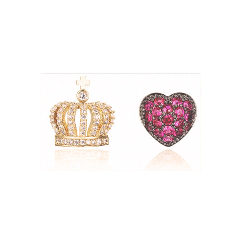 Pink Queen Earrings